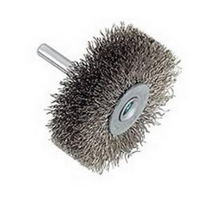 brosse meuleuse droite circulaire tige pour acier