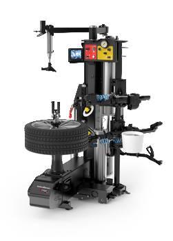 démonte pneu semi-automatique