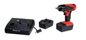 clé à chocs sans fil Snap-on-deux-batteries et chargeur